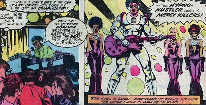 Hypnohustler  Marvel Comics  Spiderman Enemy Disco