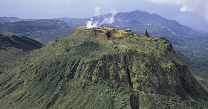 La Grande Soufrière,Guadeloupe