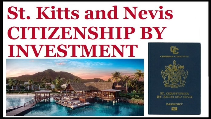 The Citizenship by- Investment programme of St Kitts and Nevis