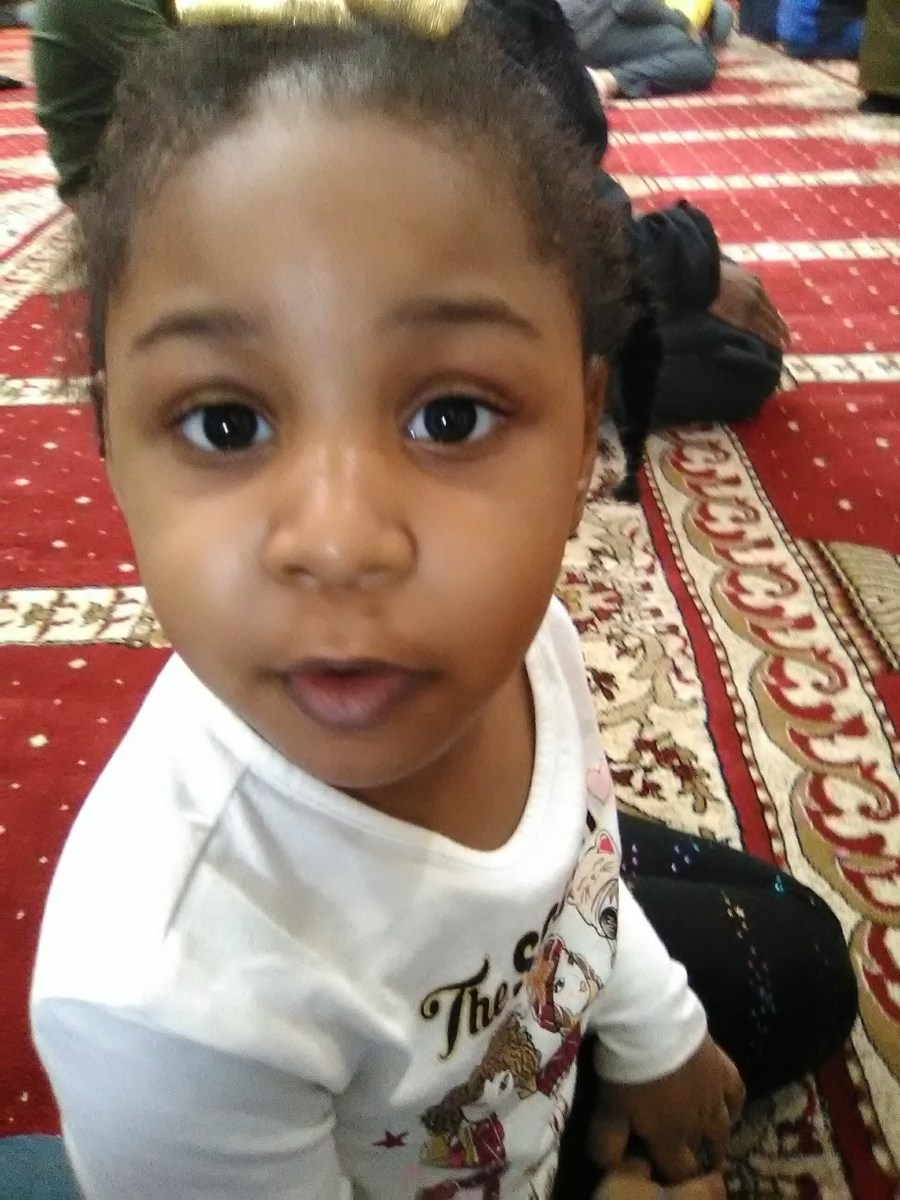 Jordyn's first visit to the Jummah prayers at The Islamic center of Tacoma.