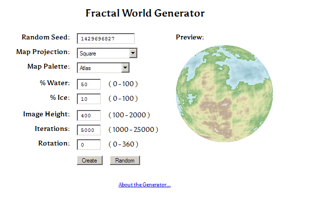Worldbuilding 3 continents madness of a modern writer fractal world generator go ahead and check it out this thing is amazingi cant get enough of it it creates continents for us gumiabroncs Gallery