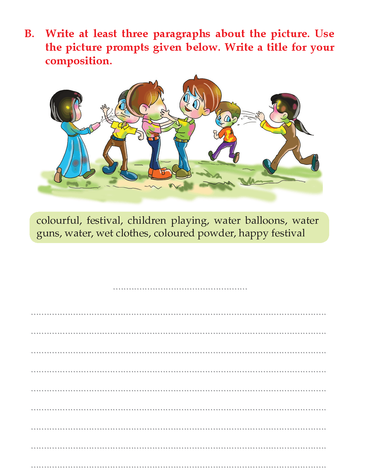 Creative Writing Worksheets K2