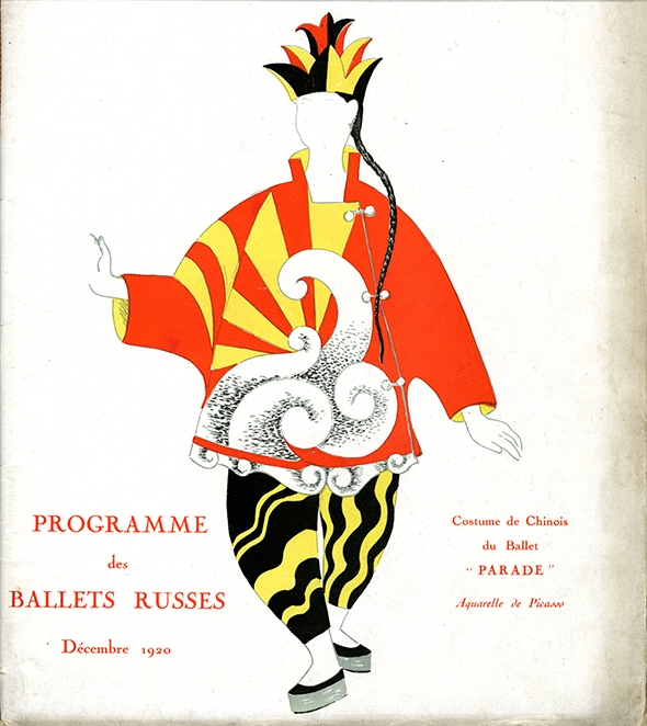 Diaghilev program