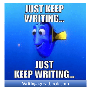 writing keep writing