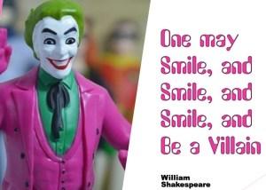 smilling villain