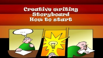 creative writing storyboard