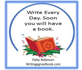 write every day soon you will have a book