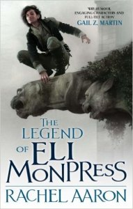 The Legend of Eli Monpress cover