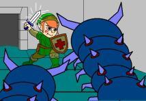 Link-the cool lil original-versus giant centipedes_2002-archive-16yrsaftergamerelease-ap-1