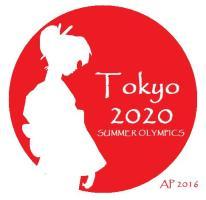 tokyo2020olympics-sticker_pensive-geisha_circle-cut-silhouette-ap-1j