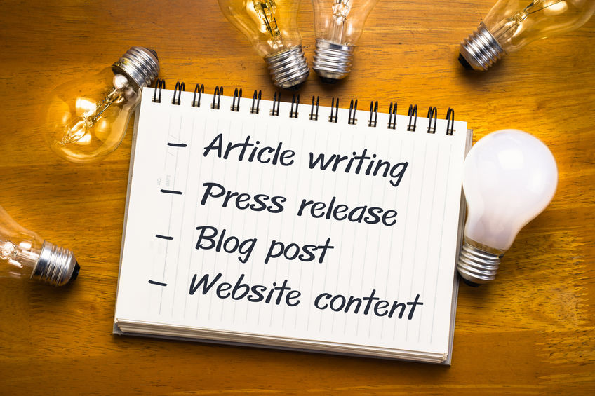 article and blog writing services