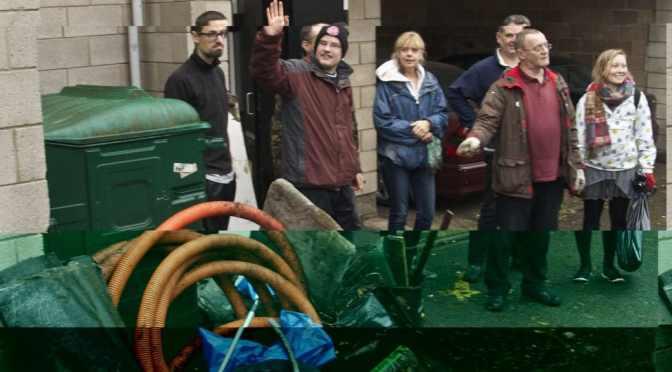 Gardening at Leigham Court