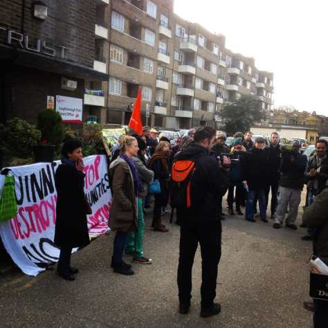 Loughborough Park Estate occupation