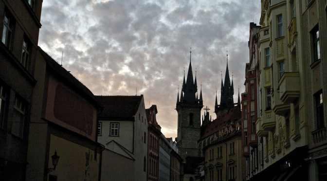 Gustav Meyrink: The Golem in Prague