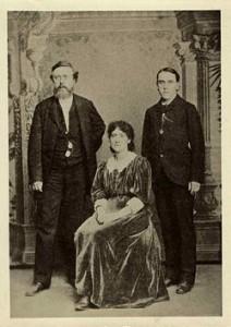 Eleanor Marx, Wilhelm Liebknecht, Edward Aveling