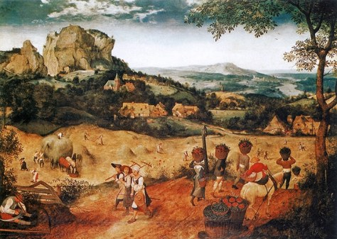 Brueghel the elder haymaking