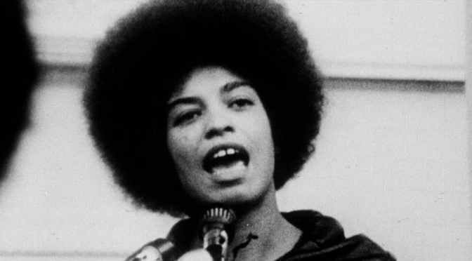 Image result for young angela davis