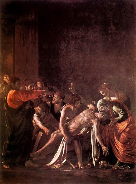 caravaggio-raising-of-lazarus-1608