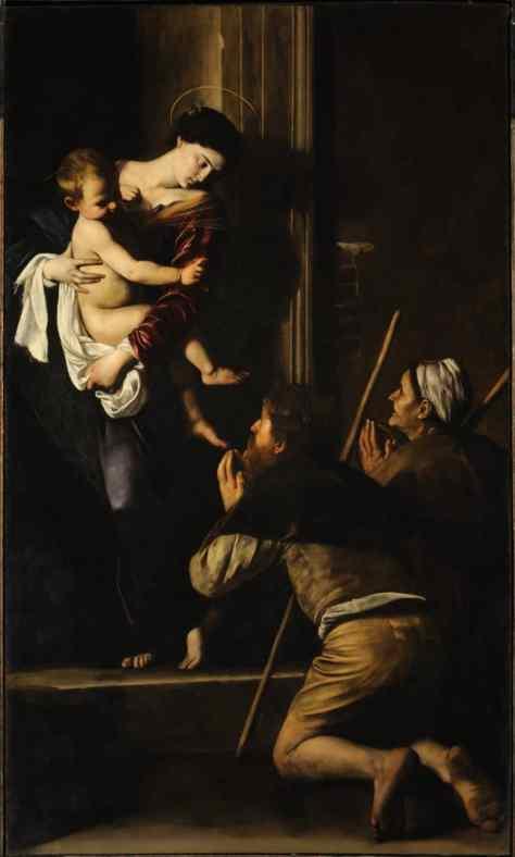 Caravaggio madonna of loretto