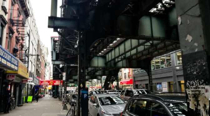 Urban Infrastructure: Trains, High lines, Bridges and Garbage Trucks