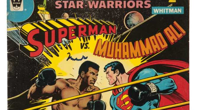 Muhammad Ali teaching Superman New Tricks