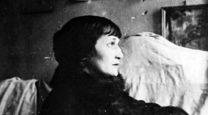 Akhmatova: grief, revolution, icebergs