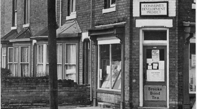 Gilding the Ghetto: Poverty and Poverty Programmes in the 60s and 70s