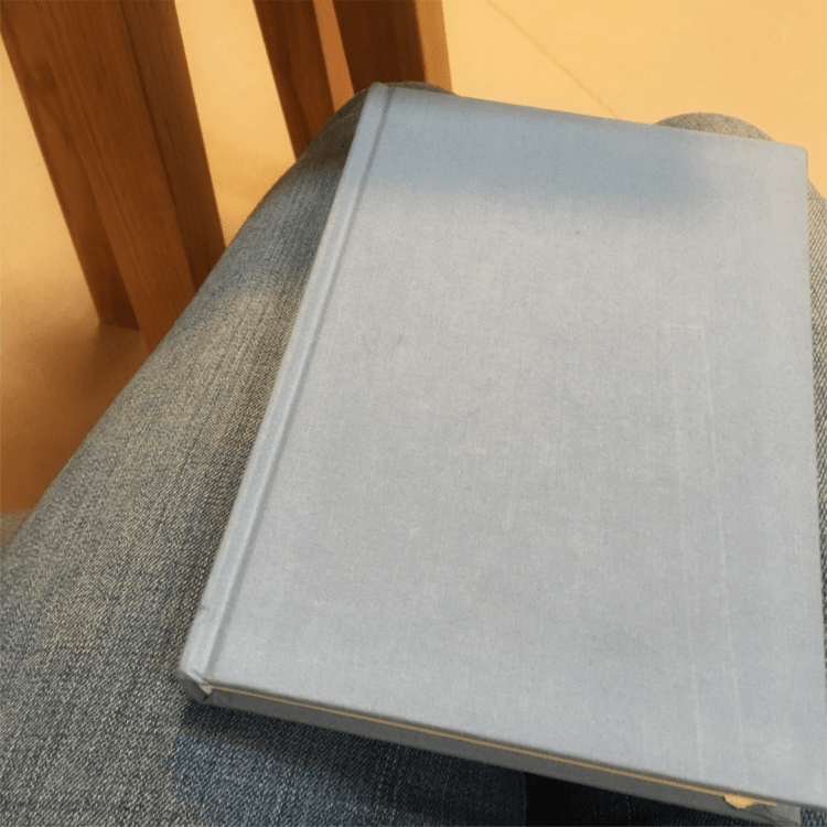 My new journal for writing down things with the five senses.