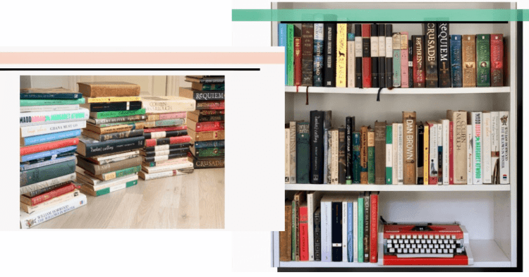 What to do when every book sparks joy? First stack all your books on the floor ask doest it spark joy and organize books on the shelf