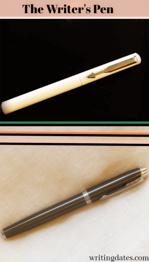 Is there a future book signing in these pens. My Parker Fountain pen and my Parker ballpoint pen