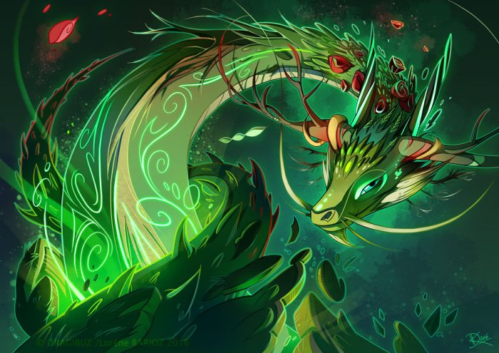 elemental dragons by lorene