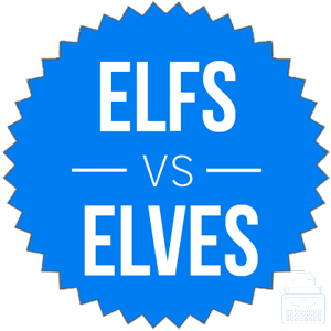 elfs or elves what