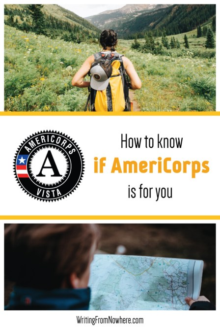 how to know if americorps is for you_writing from nowhere