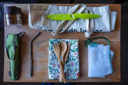 How to Get Fresh Food While Backpacking or Traveling - kitchen items