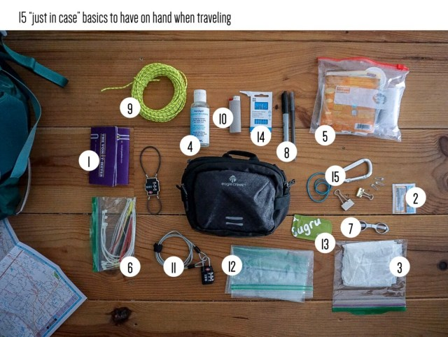 sustainable travel_the just in case things you should take traveling_Writing From Nowhere