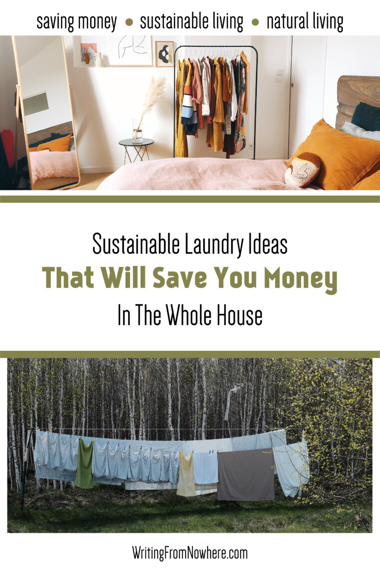 Sustainable laundry routine, Writing From Nowhere