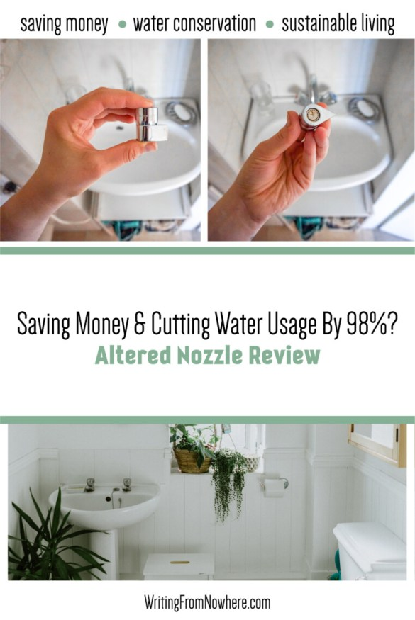 Saving Money & Cutting Water Usage By 98 Percent Altered Nozzle Review