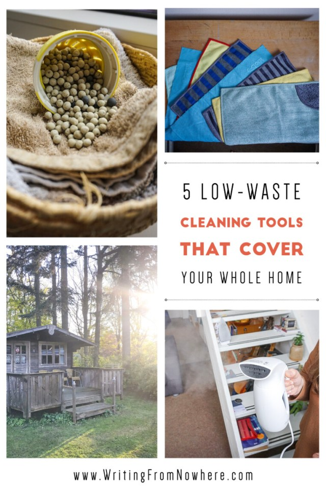 low-waste cleaning tools_Writing From Nowhere_Kayla Ihrig
