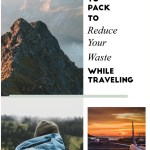 sustainable travel packing list_Writing From Nowhere