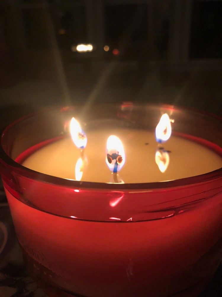 Candlelight photograph