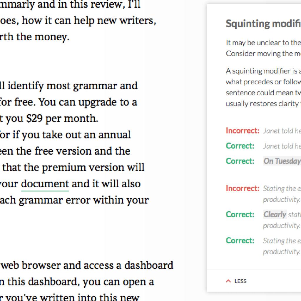 Grammarly Review [Updated] - Best Grammar Checker? - Writing Help