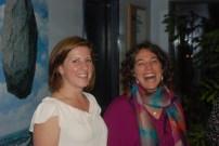 wiVT assistants Meg, Denise - launch 10-13