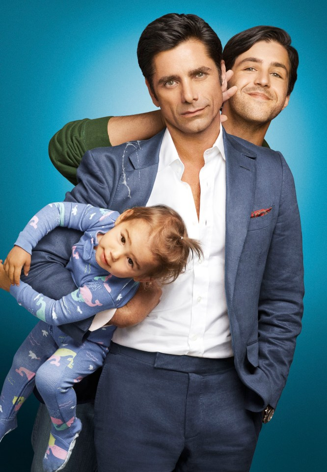 GRANDFATHERED: Pictured L-R: John Stamos as Jimmy and Josh Peck as Gerald. ©2015 Fox Broadcasting Co. CR: Robert Trachtenberg/FOX