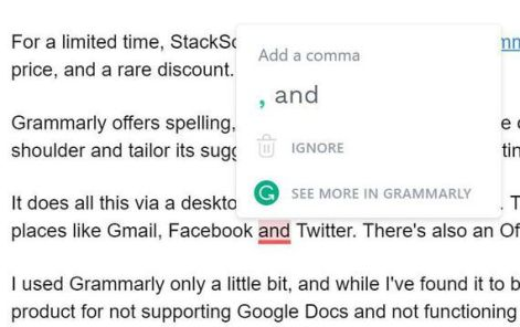 Online Punctuation Checker