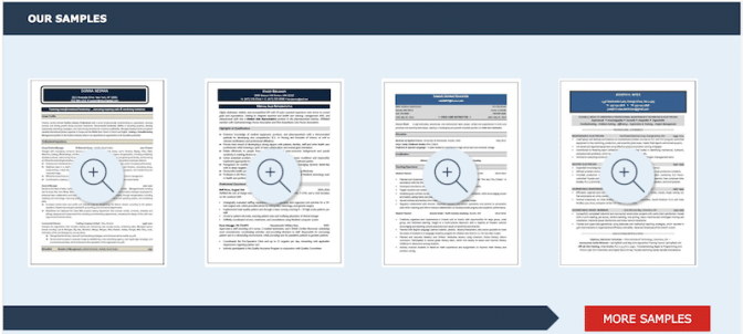 resume writing examples