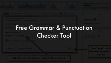 writing corrector free