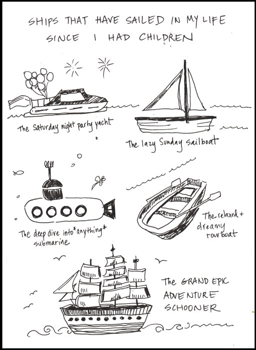 Ships that have sailed