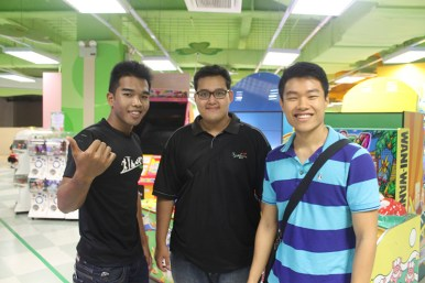 Wan, Amin and Hong Yi