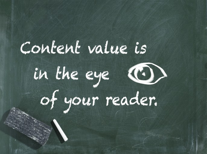 Content Value is in the Eye of the Reader