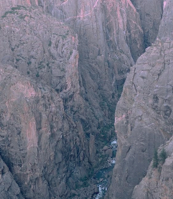 Black Canyon of the Gunnison National Park, Colorado — A far cry from Smelly Creek